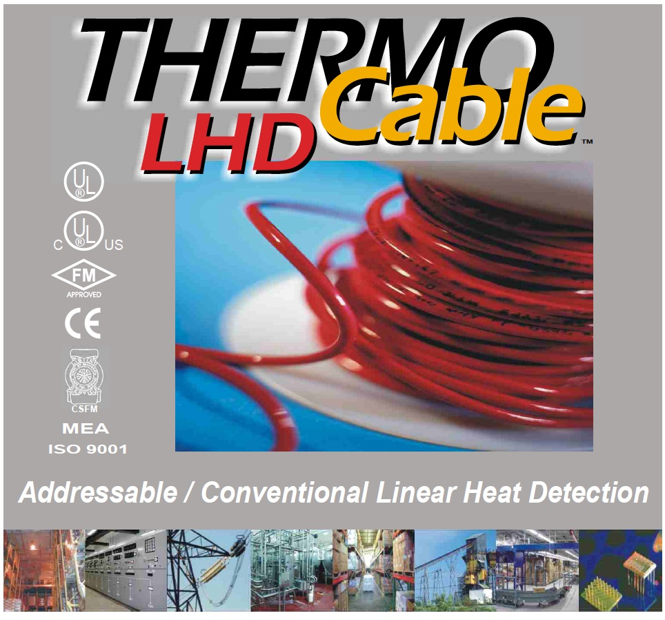 SafeCable Linear heat Detection